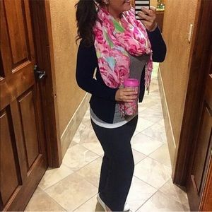 Lilly Pulitzer Hotty Pink FIRST IMPRESSIONS SCARF